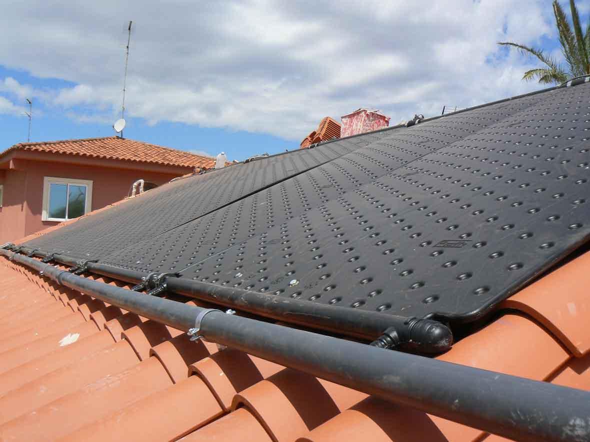 Captadores rothpool para calentamiento piscinas2 energ - Calentar piscina solar ...